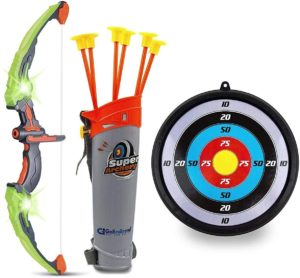 Nerf Bow and Arrows