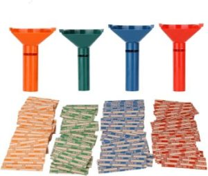 #1 Coin Counters & Coin Sorters Bundle Coin Tubes and 100 Assorted Coin Wrappers