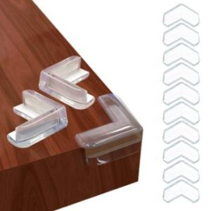 #1. Barkah Corner Protector Clear Baby Proofing