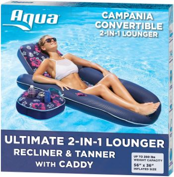#10 Aqua Campania Ultimate 2 in 1 Pool Lounger
