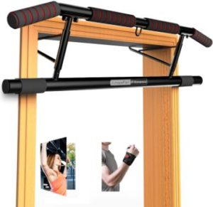 #10. AmazeFaan Pull Up Bar with Ergonomic Grip
