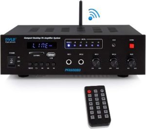 #10. Wireless Bluetooth Amplifier 300 Watts 12 Volt