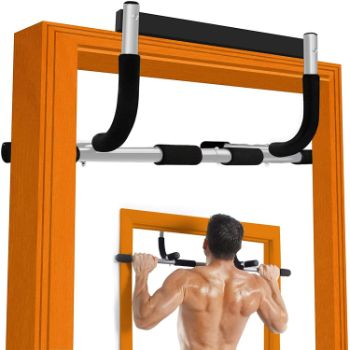 #11. Doopro Pull up Bar, Doorway Mounted Pull up Bar Strength Training