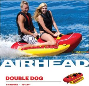 #2 Airhead Hot Dog 1-5 Rider Towable Tube for Boating