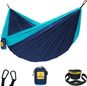 #4 Wise Owl Outfitters Hammock & Single with Tree Straps
