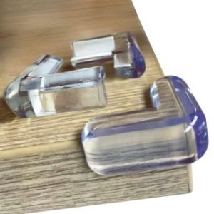 #4. Clear Edge Bumpers Corner Protectors For Table Corners