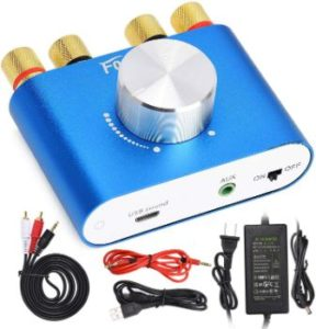 #4. Facmogu F900 Bluetooth Mini Amplifier Audio Receiver