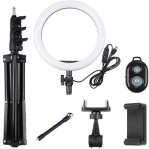 #5. Rovtop Ring Lighact (10-inch) LED, with Stand Tripod