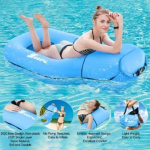 #7 SEGOAL Pool Floats Inflatable Floating Lounger Raft Swimming Ring Pool Toy