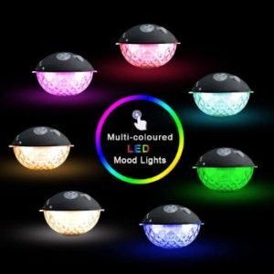 #7. Floating Bluetooth Speaker with Colorful Lights