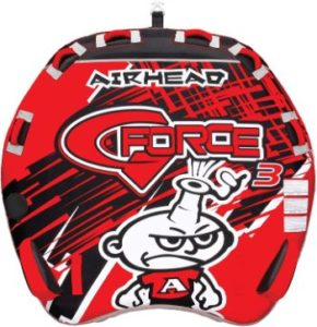 #8 Airhead G-Force 1-4 Rider Towable Tube for Boating