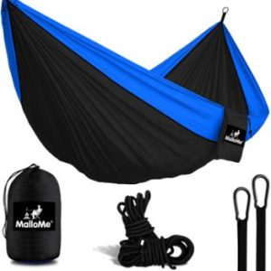 #9 MalloMe Camping Hammock with Ropes - Double & Single Indoor