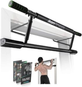 #9. Ikonfitness Pull Up Bar for Home Gym, with Smart Hooks Technology