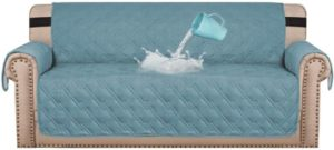 #10. H. VERSAILTEX Sofa Protector Cover 100% Waterproof Couch