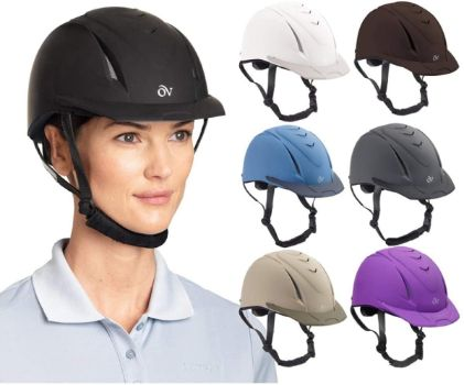 #2. Oviation Girls' Schooler Deluxe Riding Helmet