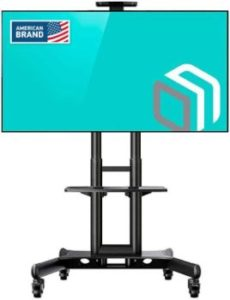 6. ONKRON TS15-51 Mobile TV Stand with Mount