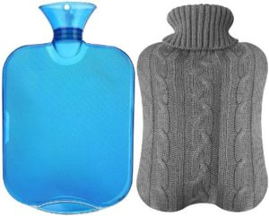 4. All one tech Transparent Classic Rubber Hot Water Bottle