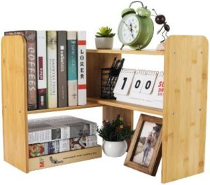 6. PAG Adjustable Desktop Bookshelf