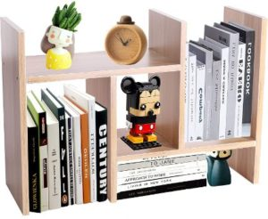 8. PENGKE Office Storage Rack, Light Brown