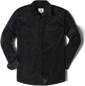 10. MOCOTONO Men's ThickLong Sleeve Corduroy Shirt