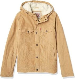 4. Levi's Men's Corduroy Trucker Jacket