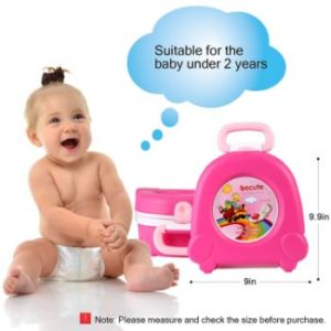 5. ONEDONE Small Portable Potty