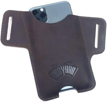 9. EASYANT Men Leather Phone Holster