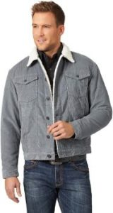 9. Wrangler Men's Sherpa Lined Trucker Jacket