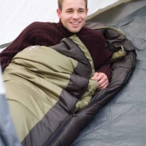 1. Coleman 0°F Mummy Sleeping Bag