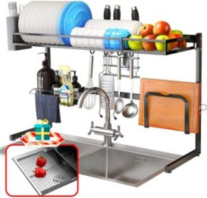 10. Over Sink Dish Drying Rack
