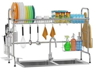 2. Over The Sink Dish Drying Rack