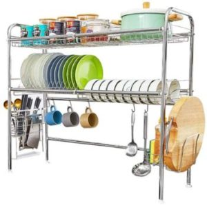 3. Over The Sink Dish Drying Rack