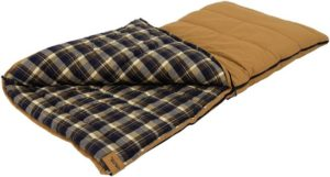 5. ALPS OutdoorZ Redwood Flannel 25 Degree Sleeping Bag
