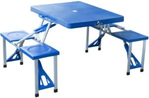 7. Outsunny Portable Camping Picnic Table