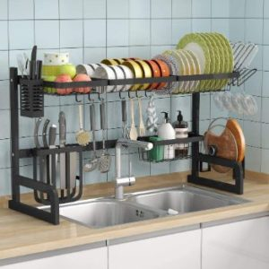 9. Over the Sink Dish Drying Rack