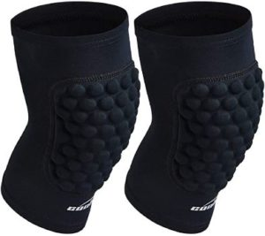 6. COOLOMG Protective Knee Pads