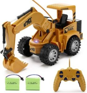 1. Remote Control Excavator Toy for Beginners