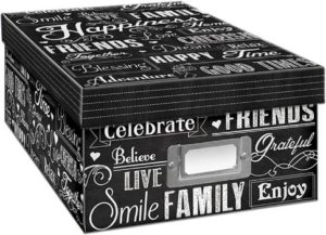 2. Pioneer Photo Albums Photo Storage Box