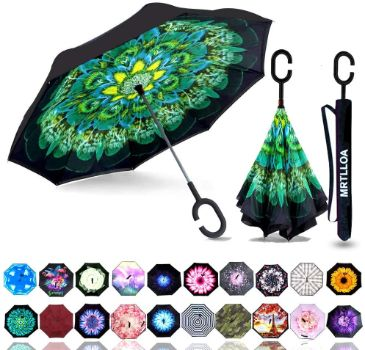 5. MRTLLOA Double Layer Inverted Umbrella